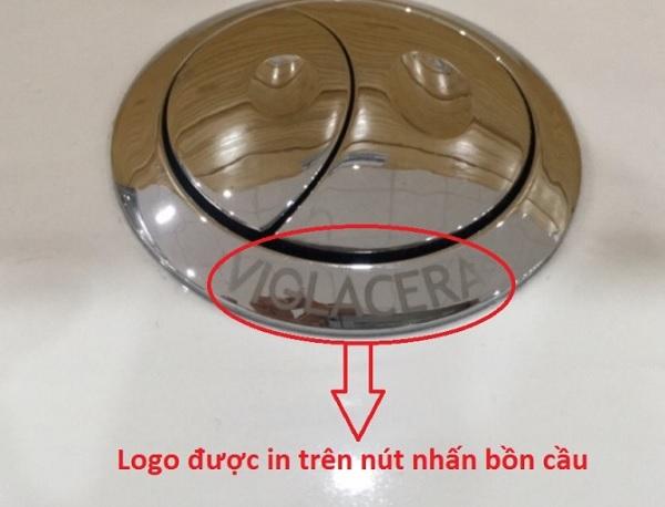nhận biết bồn cầu viglacera có tốt không bằng logo