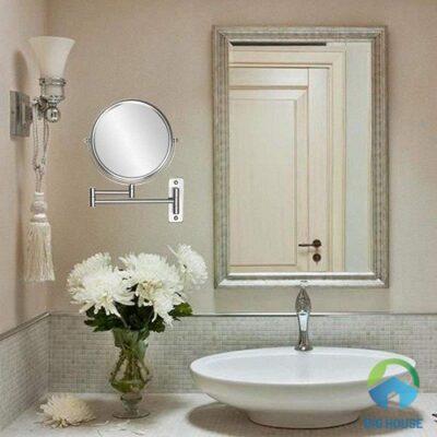 Cách lắp đặt gương đứng nhà tắm hợp phong thủy