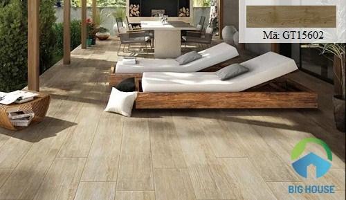 Gạch giả gỗ Viglacera 15x60 GT15602