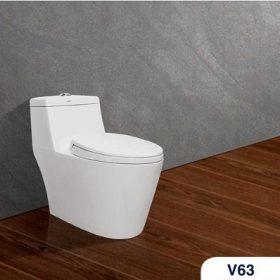 Bồn cầu két liền Viglacera V63