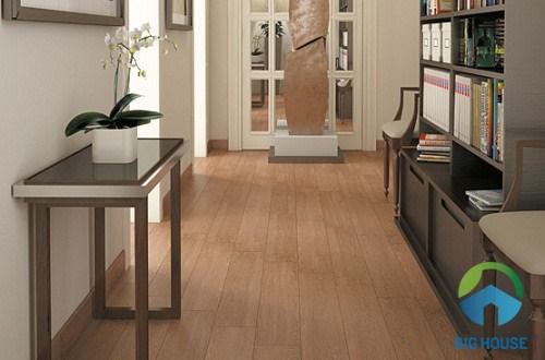 Gạch giả gỗ Viglacera có mức giá rẻ