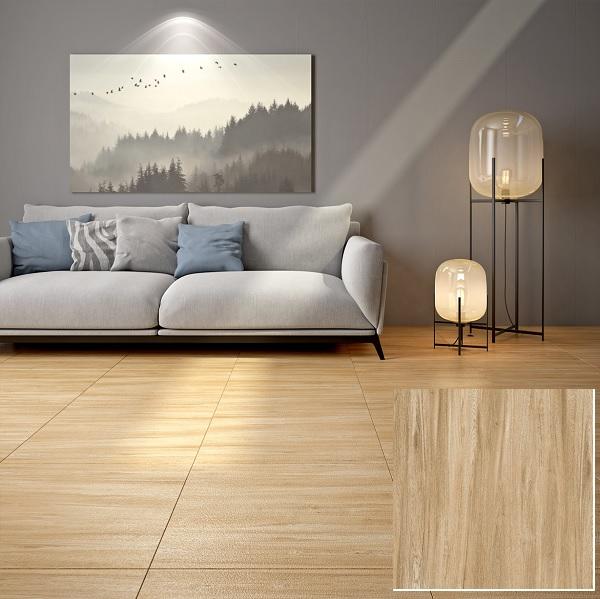 Mẫu gạch vân gỗ Vitto 0976 họa tiết vân gỗ men Sugar độc đáo