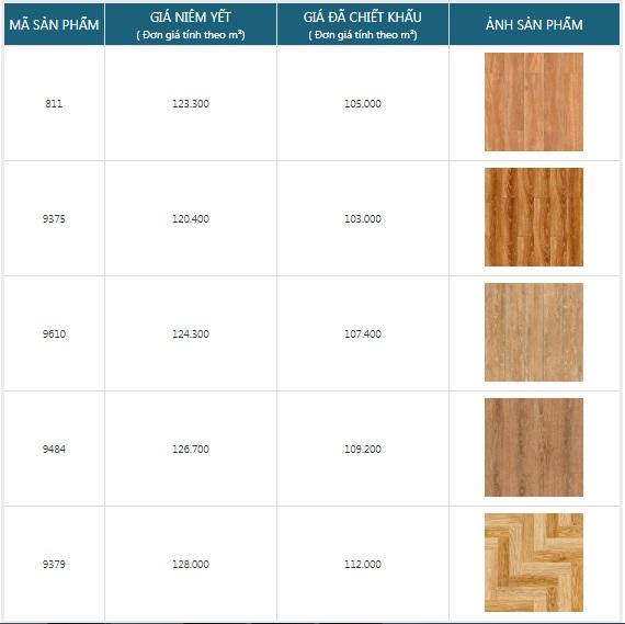 giá gạch giả gỗ Prime 50x50