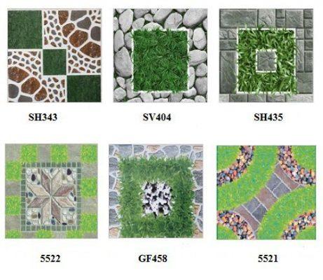 gạch sân vườn biệt thự