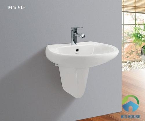 chậu rửa mặt Viglacera treo tường 4