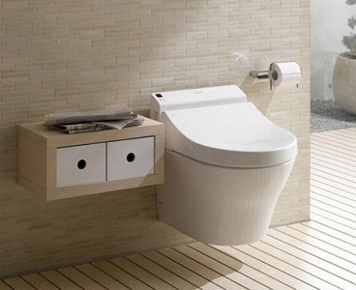Chọn kích thước bồn cầu cho phòng tắm diện tích nhỏ
