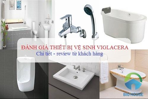 đánh giá thiết bị vệ sinh viglacera