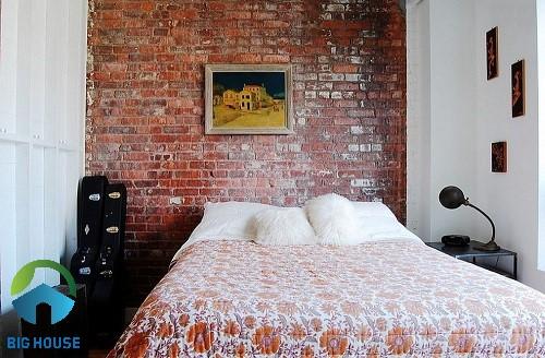 gạch thẻ ốp tường phòng ngủ 1