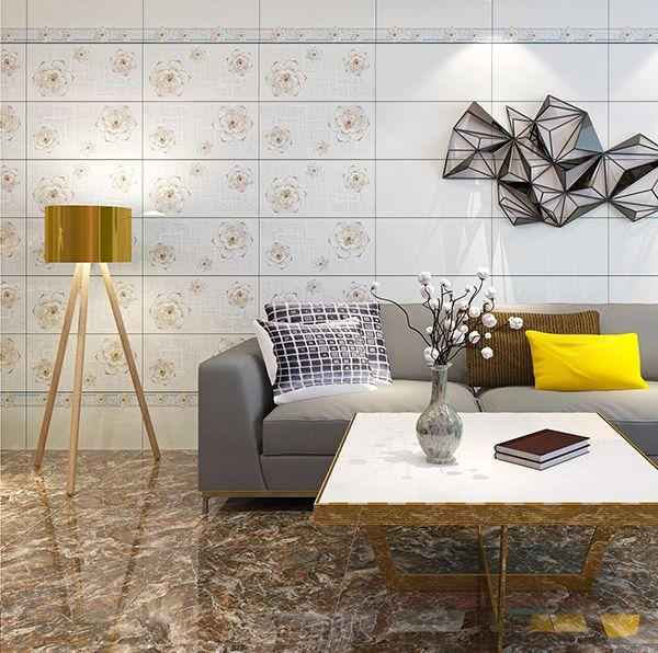 gạch ốp tường 30x60 cho phòng khách