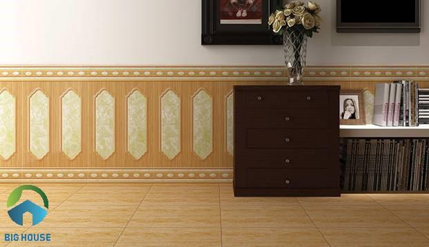mẫu gạch ốp chân tường phòng ngủ 2