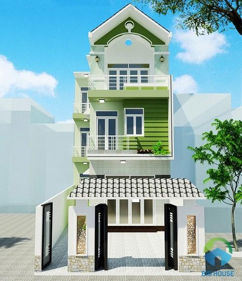 xây nhà 3 tầng 100 m2 hết bao nhiêu 12
