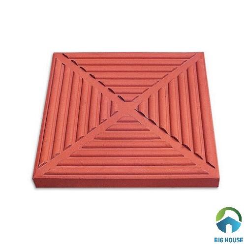 gạch chống nóng lá dừa 400x400