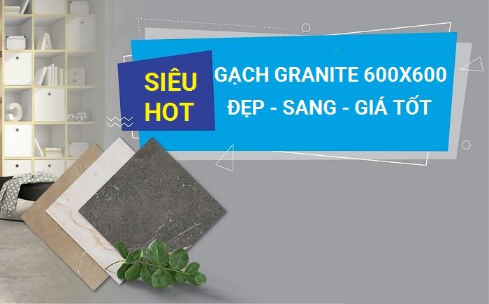 99+ Mẫu gạch Granite 600×600 Đẹp Cùng Bảng giá chi tiết 2021