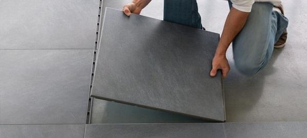 gạch lát nền granite chống nồm hiệu quả