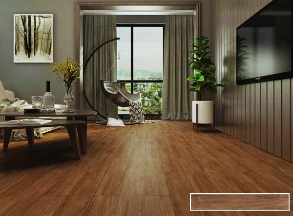 Mẫu gạch giả gỗ Viglacera GT15903 lấy cảm hứng thiết kế từ gỗ Walnut trong tự nhiên