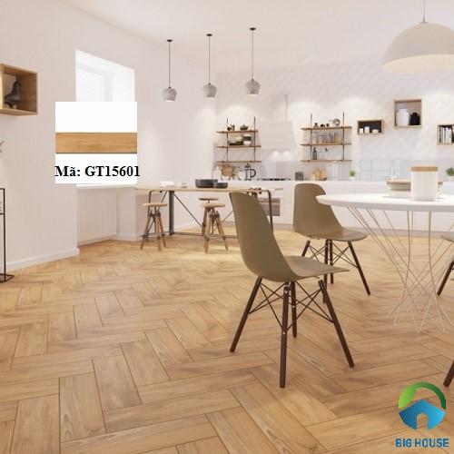 mẫu gạch viglacera vân gỗ 15x60 GT15601