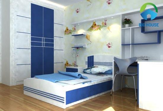 gạch ốp tường phòng ngủ cho bé 3