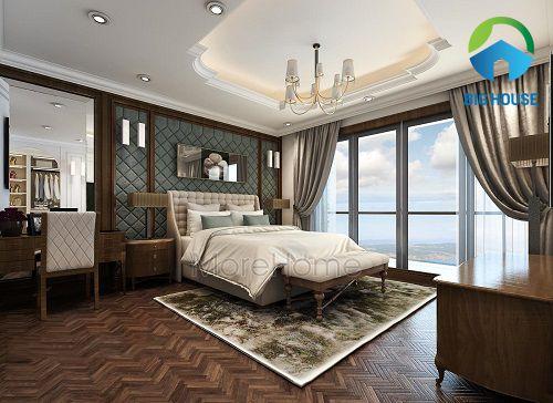 những mẫu gạch ốp tường phòng ngủ đẹp