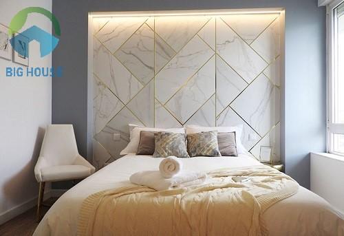 gạch ốp tường phòng ngủ viglacera 2