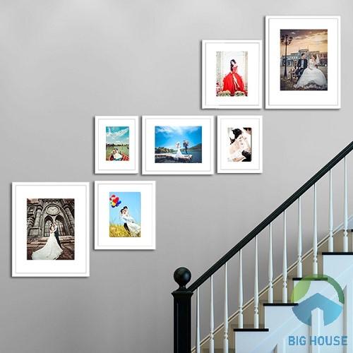 Tranh ảnh trang trí vách tường cầu thang