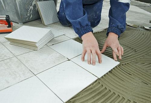 Nguyên tắc lát gạch nền nhà đơn giản
