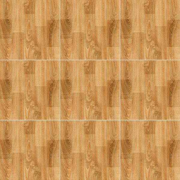 map gạch lát sàn giả gỗ màu vàng nâu