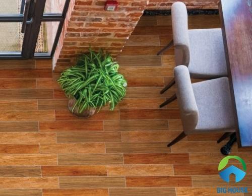 3 mẫu gạch vân gỗ 15x80 Prime 08915, 08916, 08917 với tông màu nâu khác biệt