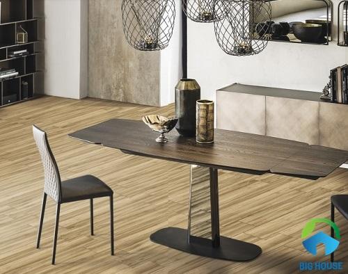 Gạch giả gỗ 15x80 Vitto 4202 với thiết kế là những đường vân gỗ sống động