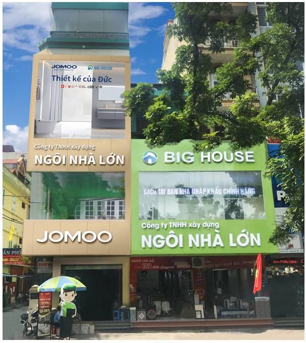 Showroom Big House - Địa chỉ mua gạch ốp ngoại thất uy tín nhất Việt Nam