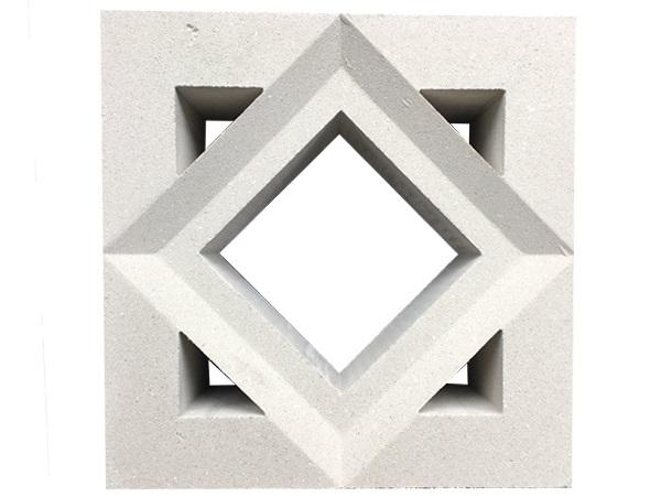 Mẫu gạch xi măng trang trí họa tiết hình thoi