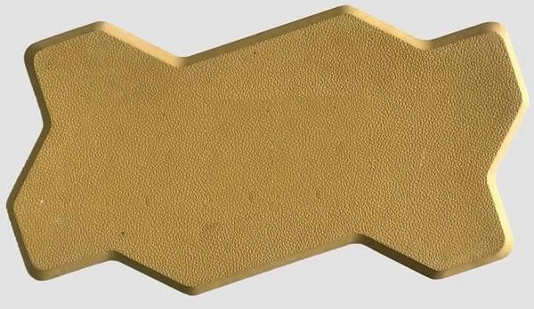 gạch block con sâu màu vàng
