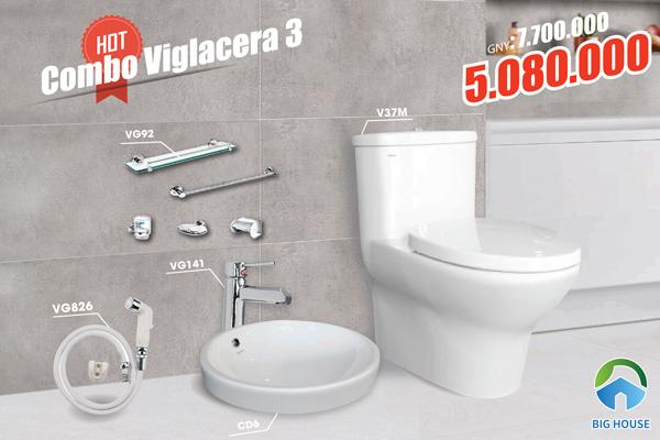 Khuyến mãi combo thiết bị vệ sinh Viglacera 3