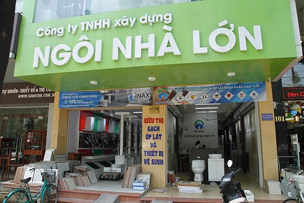 Đại lý thiết bị vệ sinh Viglacera tại Hà Nội