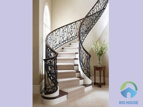 TOP mẫu thiết kế cầu thang nhà ống 4m đẹp nhất bạn không nên bỏ lỡ