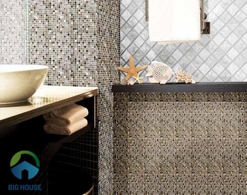 kích thước gạch mosaic 1