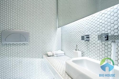 gạch mosaic lục giác 1