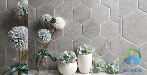 gạch mosaic lục giác 2