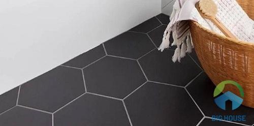 gạch mosaic lục giác 4