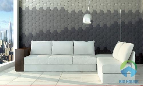 gạch mosaic lục giác 5