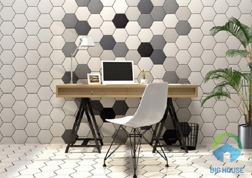 gạch mosaic lục giác 7