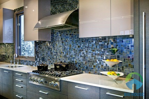 gạch mosaic ốp bếp 3