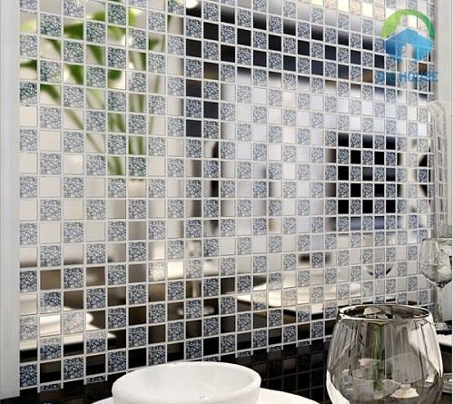 gạch mosaic thủy tinh