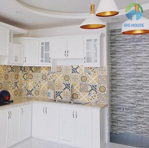Gạch bông trang trí giá rẻ cho phòng bếp nổi bật