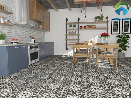 99 Mẫu gạch bông trang trí cho phòng khách, nhà bếp, nhà tắm…