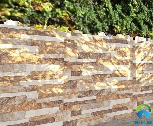 gạch ốp tường rào đẹp 6