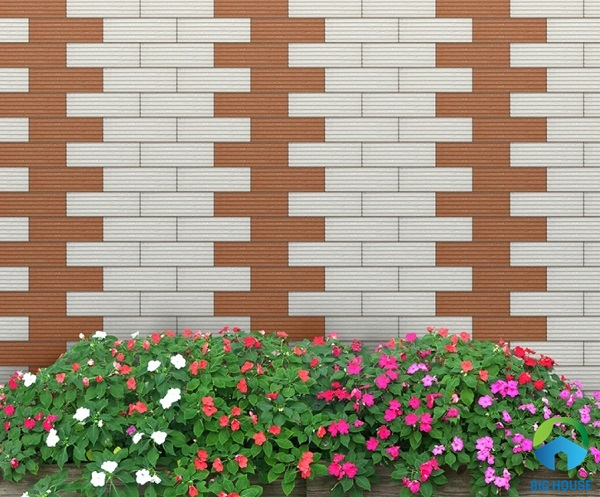 gạch ốp tường rào đẹp 9