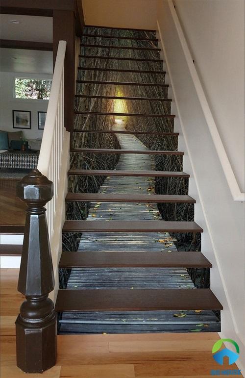 gạch 3d cầu thang 3