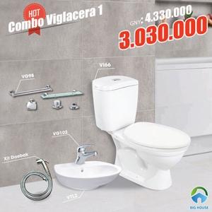 Combo thiết bị vệ sinh Viglacera 1
