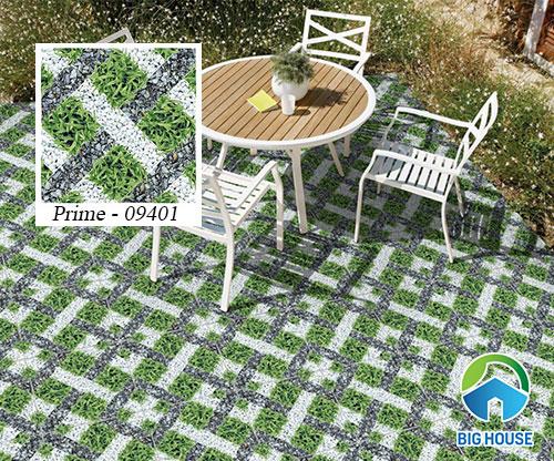 mẫu gạch cỏ sân vườn Prime 09401