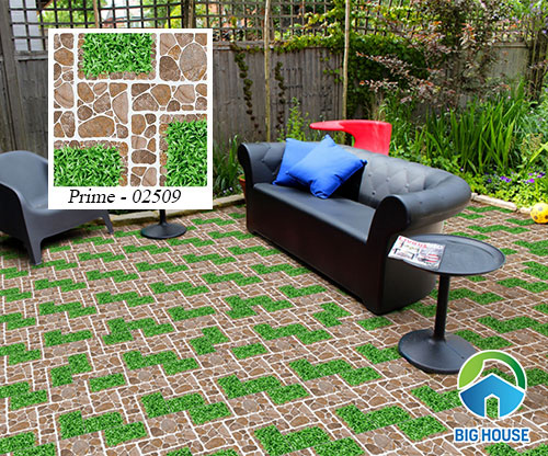 mẫu gạch cỏ Prime 02509